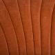 Křeslo Bardolino - oranžová detail