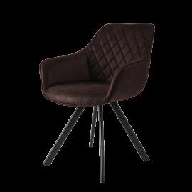 Židle Pagani tm. hnědá
