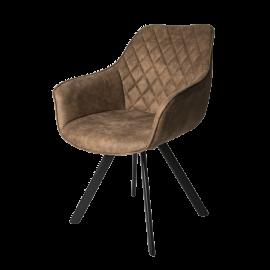 Židle Pagani hnědá