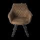 Židle Pagani hnědá předek