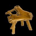 Lavice z teakového kořene
