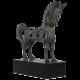 Bronzová soška Bájný kůň I.
