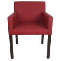 Jídelní židle červená