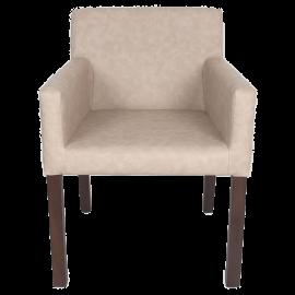 Jídelní židle krémová