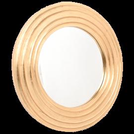Zrcadlo kulaté zlaté