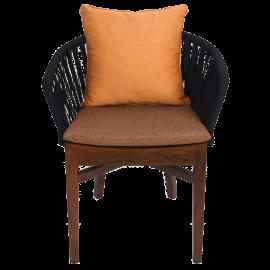 Jídelní židle s polštáři
