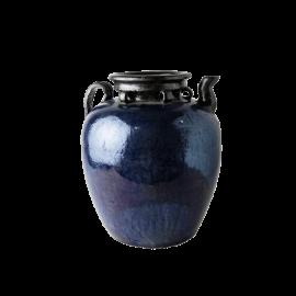 Dekorativní stará nádoba modrá
