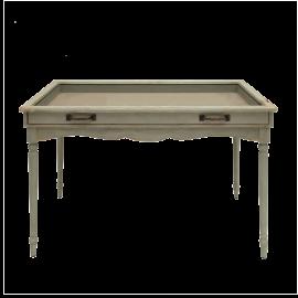 Stůl prosklený