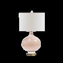 Stolní lampa růžová