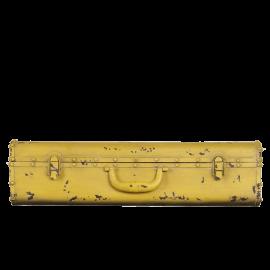 Police kufr žlutá