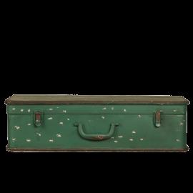 Police kufr zelená
