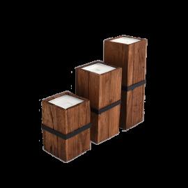 Sada dekorativních svíček Vertikál - set 3ks