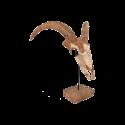 Dřevěná lebka krávy