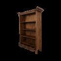 Knihovna Teak se zády
