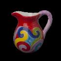 Virgola džbán 1 litr - červený