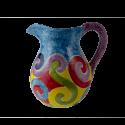Virgola džbán 1 litr - modrý