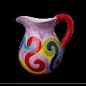 Virgola džbán 1 litr - fialový