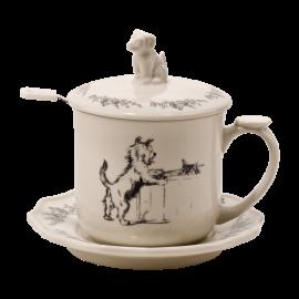 Hrnek na čaj Pejsek