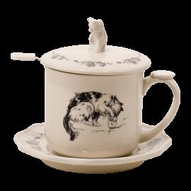 Hrnek na čaj Kočička