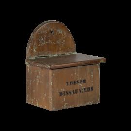 Dřevěný zásobník na sůl