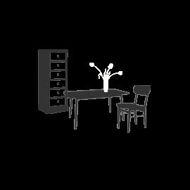 Industriální nábytek